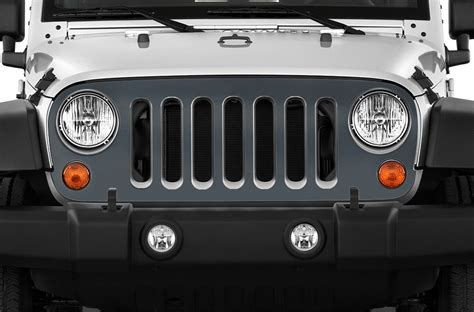 jeep grill skin vinyl graphics decal grille wrap for jeep wrangler rubicon