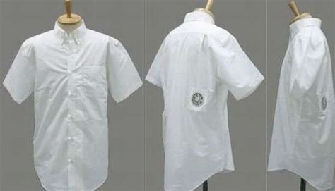 Air Conditioned Clothing Cool And Lame At The Same Time by Air Conditioned Clothing Usb Air Conditioned Shirt