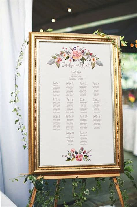 100 best wedding table plans place names images on pinterest