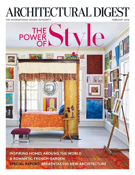 architectural digest february 2016 architectural digest