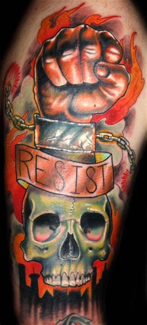 resistance tattoo large image leave comment