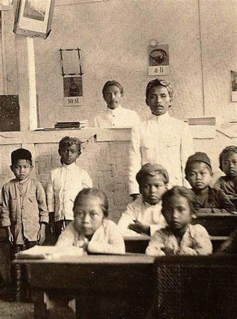 Baju Adat Jaman Dulu 9 foto potret pendidikan dan suasana di sekolah jaman dulu