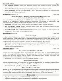 marketing resume sles senior sales executive sle resume