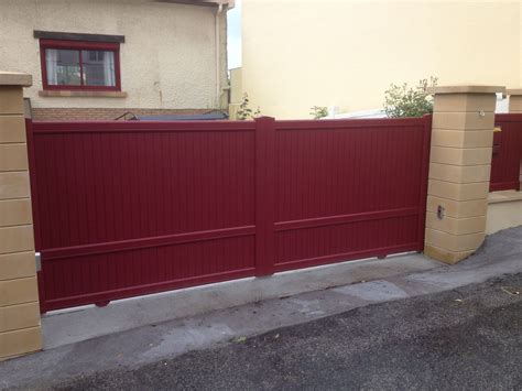 Installer Un Portail Coulissant 3830 by Installer Un Portail Coulissant Stunning Portail