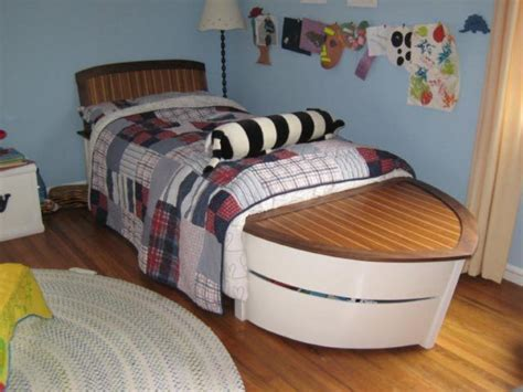 boat bed speed boat sailboat bed beach style pinterest