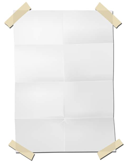 Transparent Craft Paper - paper sheet png transparent images free clip