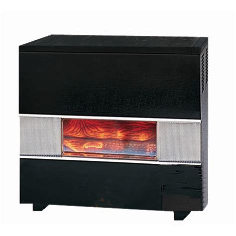 cabinet heater with thermostat williams 35 000 btu natural gas hearth heater with wall or
