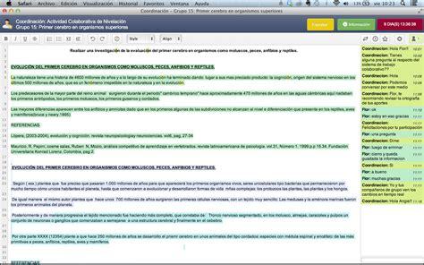 etherpad lite desarrollo plataforma etherpad trabajo colaborativo