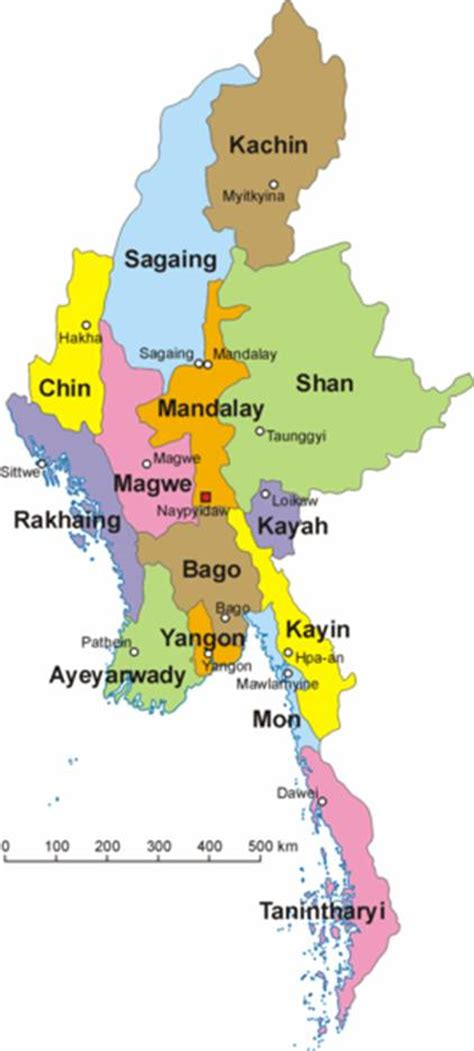 political map of myanmar myanmar map political regional maps of asia regional