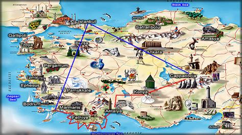 antalya map tourist attractions maps update 1200920 istanbul tourist map 20 toprated
