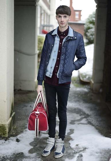 New Vest Deluna Maroon Matt matt fielding new look quilted jacket topman denim