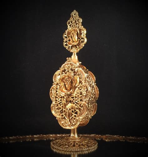 gold filigree antique perfume bottle gold filigree perfume bottle filigree