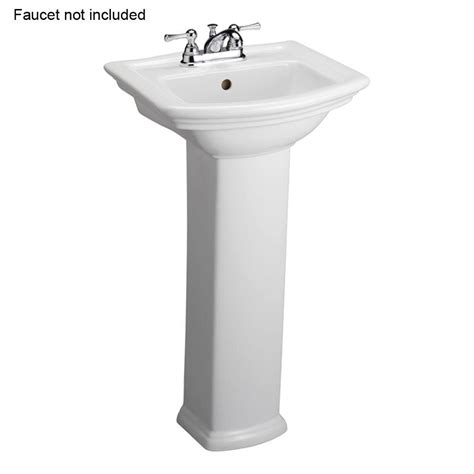 Pedestal Sink And Toilet Combo Washington 460 18 In Pedestal Combo Bathroom Sink In