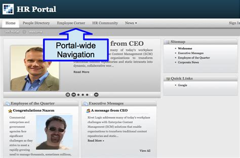 liferay templates free hr portal liferay apps rivet logic corp