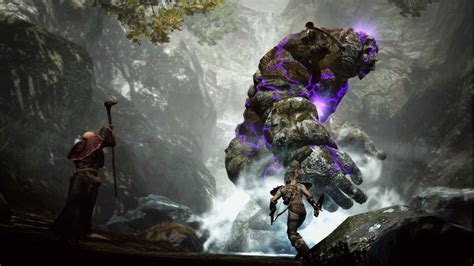 wallpaper coc dark dragons dogma new capcom game golem boss fight tech geek