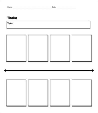 Free Blank Timeline Template by 7 Blank Timeline Templates Free Sle Exle Format