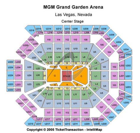 grand arena floor plan mgm grand garden arena tickets and mgm grand garden arena