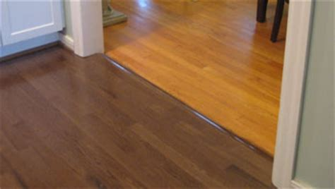 matching wood flooring home makeover