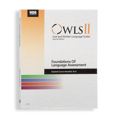 written language owls ii and written language scales second