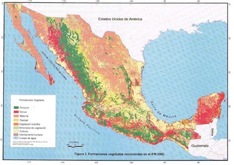 cadenas orograficas principales de mexico la condici 243 n actual de los recursos forestales en m 233 xico