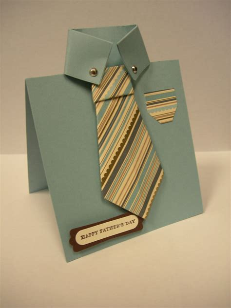 how to make a shirt card for s day shirt origami tie card