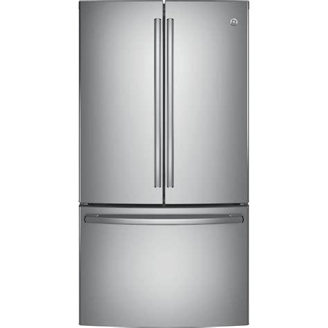 ge door refrigerator not cooling ge 28 5 cu ft door refrigerator stainless