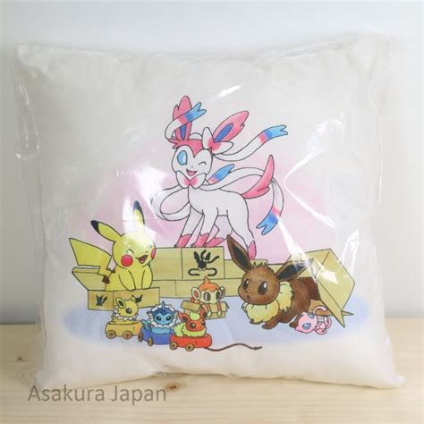 Eevee Pillow by Center 2016 Mini Cushion 4 Pikachu Sylveon