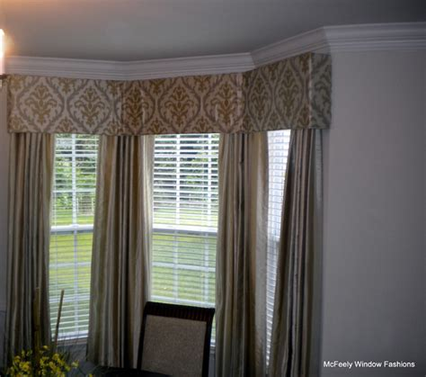 Custom Window Panels Custom Cornice Board With Coordinating Panels Mcfeely