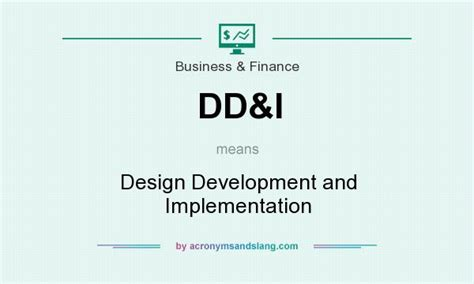 definition design and development what does dd i mean definition of dd i dd i stands