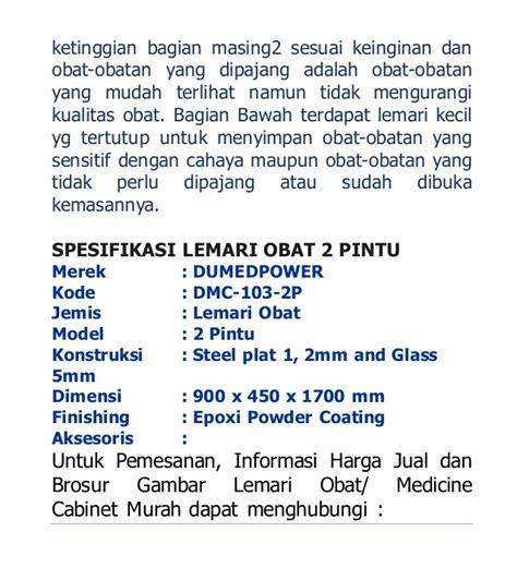 Apotik Yg Jual Pipet Kaca lemari obat 2 pintu plat baja dan stainless steel