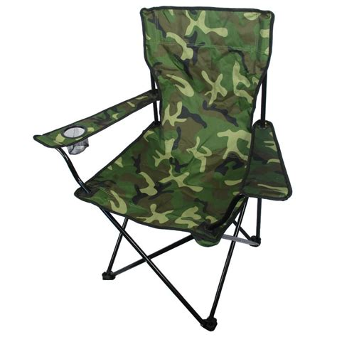 camouflage cing chair army and outdoors