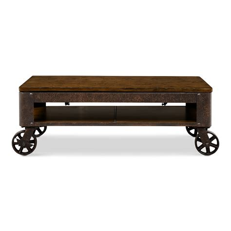 shortline lift top cocktail table american signature