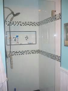 Black and white bathroom tiles in a small bathroom navy blue bathroom