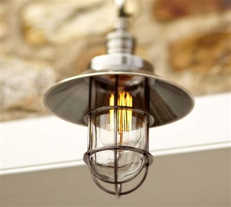 Marine Light Fixture Marine Pendant Industrial Pendant Lighting By Pottery Barn