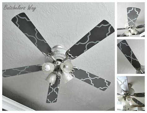 ceiling fan painting ideas batchelors way office redo custom ceiling fan blades