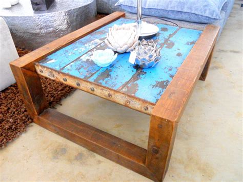 Ideas For Nautical Coffee Table Design Shipwreck Furniture One Of A Nautical Furniture Made From Salvaged Boats Shipwreck