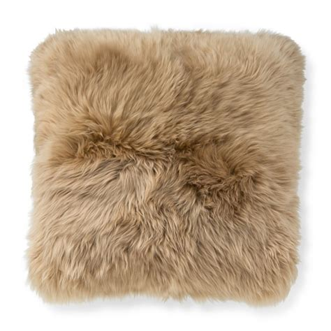 Sheepskin Pillow Covers by Sheepskin Pillow Cover Williams Sonoma