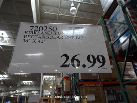kirkland beds kirkland signature rectangular pet bed