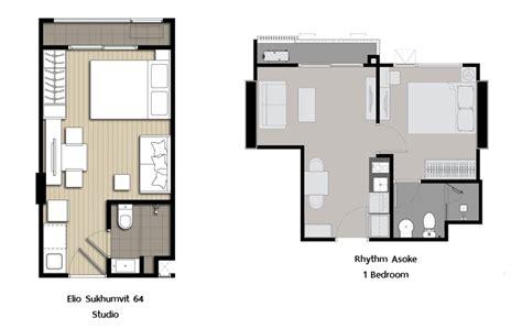 studio or 1 bedroom อย คนเด ยว เล อกอย แบบไหนด studio vs 1 bedroom
