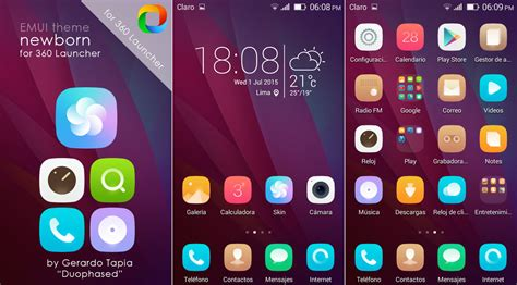 emui themes hwt newborn emui theme for 360 launcher by duophased on deviantart