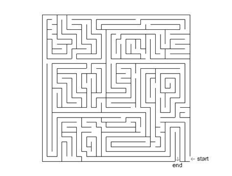 maze printable version leicestershire dyslexia association big maze 3
