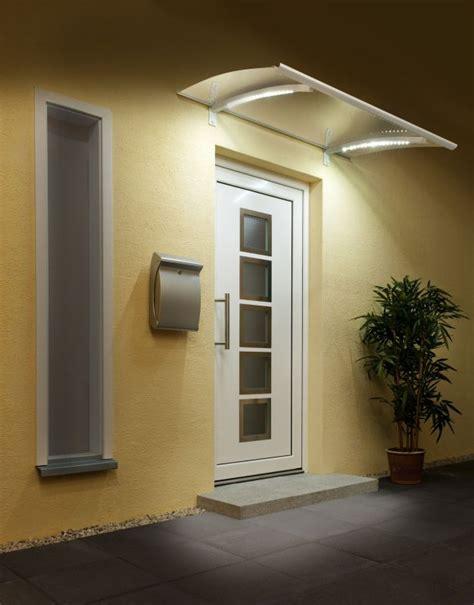 beleuchtung vordach edelstahl vordach mit beleuchtung vord 228 cher 220 berdachungen