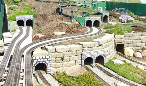 Garden Railroad Layouts Big Sky Garden Railway Quot Garden Rails Pinterest