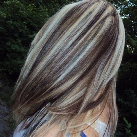 color highlights to blend gray into brown hair medium brown hair with blonde lowlights short hairstyle 2013