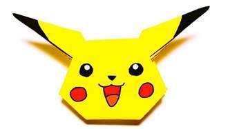 Origami Pikachu Box - origami pikachu box easy comot