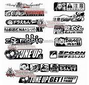 Jdm Stickers On Cars