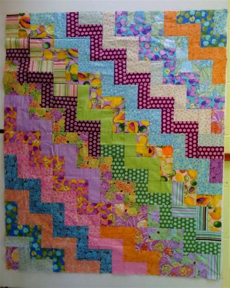 Rail Quilt Pattern by Rail Fence Quilt Patterns 171 Free Patterns