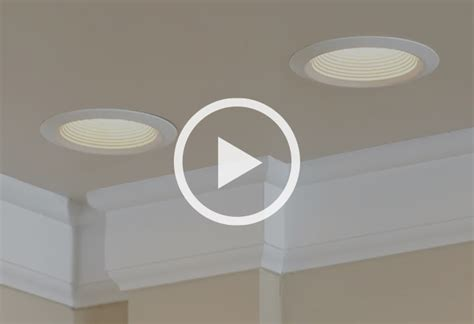 Installing Recessed Lighting In Finished Ceiling Learn To Install Recessed Lighting At The Home Depot