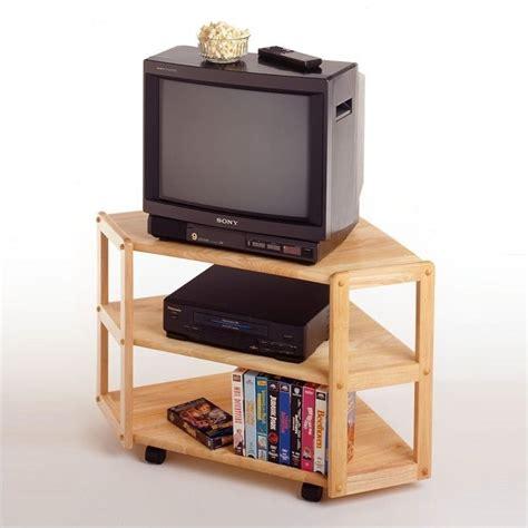 corner tv stand winsome basics solid wood corner tv stand ebay