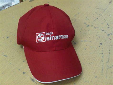 jual topi bordir 1 sisi perlengkapan security